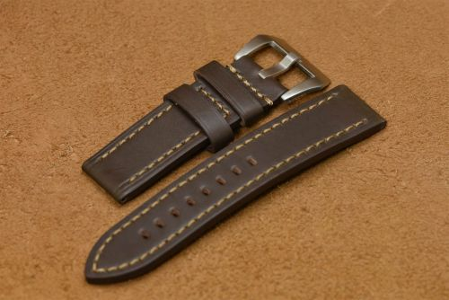 24mm Dark Brown Strap