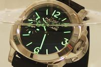 1:1 Marina Militare 44mm Black Dial with Superlume Watch