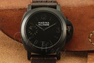 1:1 Marina Militare 44mm Black Dial with Dark Gray Lume Watch