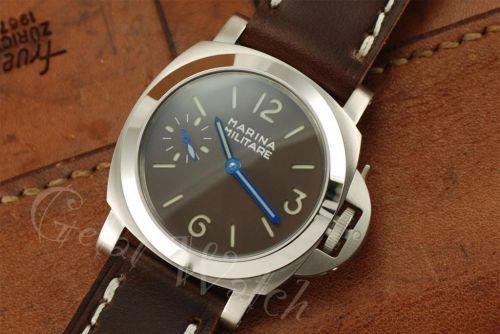 1:1 Marina Militare 44mm Brown Dial with Superlume Watch