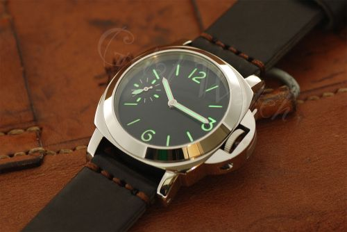 1:1 44mm Sterile Black Dial with Superlume Watch