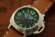 44mm Mini Fiddy Marina Militare Black Base Dial with Superlume Watch