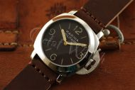 44mm Mini Fiddy Marina Militare Brown Base Dial with Superlume Watch