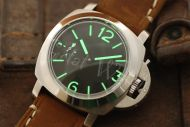 44mm Mini Fiddy Sterile Black Dial with Superlume Watch