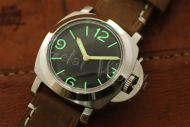 44mm Mini Fiddy Sterile Black Base Dial with Superlume Watch