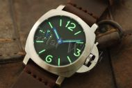 44mm Mini Fiddy Sterile Black Dial with C3 Superlume Watch