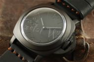 44mm Mini Fiddy Sterile Black Dial with Dark Gray Superlume Watch