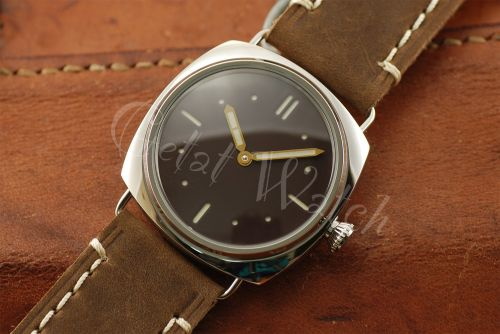 1:1 45mm Radiomir 2533 Style Sterile Brown Dial with Superlume Watch