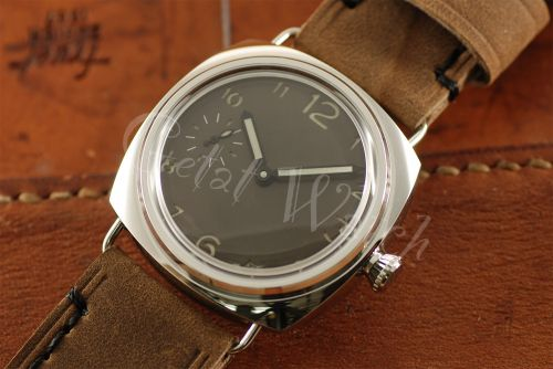 1:1 45mm Radiomir Style Sterile Brown Dial with Superlume Arabic Numbers Watch