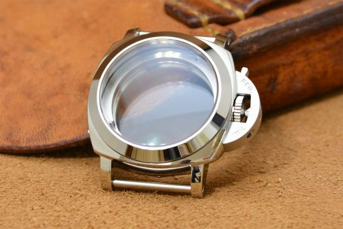 1:1 44mm 1950 Style Polished Steel Case Set