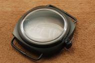 1:1 45mm Radiomir Style Domed Plexiglass Matte PVD Black Case Set