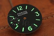 C3 Superlume Black Marina Militare Dial