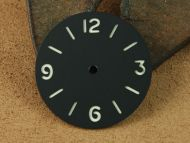 Base Style Black Dial with Superlume Numbers
