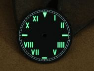 Superlume Black Dial with California Style Numbers