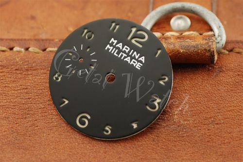 Superlume Black Marina Militare Dial with Arabic Numbers