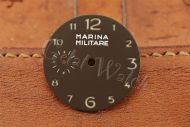 Superlume Brown Marina Militare Dial with Arabic Numbers