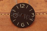 Superlume Brown Sterile Dial