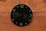 Superlume Black Sterile Dial with Arabic Numbers