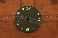 Superlume Brown Sterile Dial with Arabic Numbers