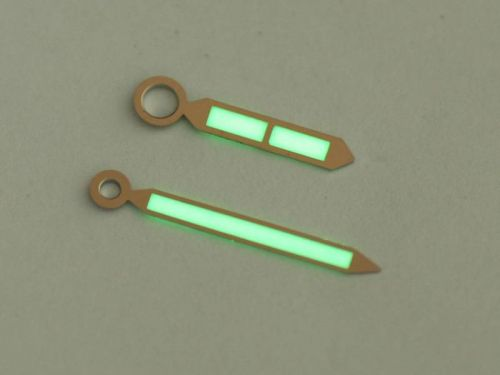 45mm & 47mm Silver California Style Hands Set with Superlume